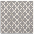 rug #1324416 | square white geometry rug