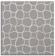 rug #1324436 | square beige circles rug