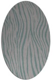 rug #1324522 | oval stripes rug