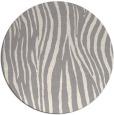 rug #1324528 | round beige animal rug