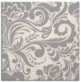 rug #1324576 | square beige damask rug