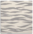 rug #1324596 | square white animal rug