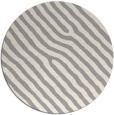 rug #1324648 | round beige stripes rug