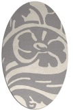 rug #1324961 | oval graphic rug