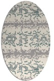 rug #1325000 | oval white popular rug