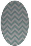 rug #1325023   oval stripes rug