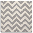 rug #1325036 | square white retro rug