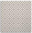 rug #1325056 | square white circles rug