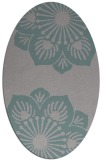rug #1325563 | oval graphic rug