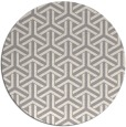 rug #1325608   round beige retro rug