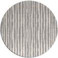 rug #1325628 | round white stripes rug