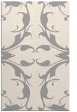rug #1325764 |  white damask rug