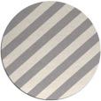 rug #1325788 | round white stripes rug