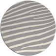 rug #1325908 | round white stripes rug