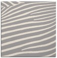 rug #1325916 | square white animal rug