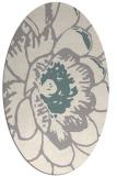 rug #1326000 | oval beige natural rug