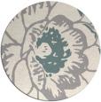 rug #1326008 | round beige graphic rug