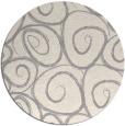 rug #1326068 | round beige natural rug