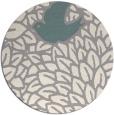 rug #1326368 | round beige animal rug