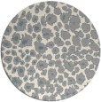 rug #1326488 | round beige animal rug
