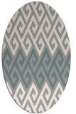 rug #1326521 | oval abstract rug
