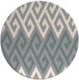 rug #1326529 | round retro rug