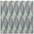 rug #1326996 | square beige circles rug