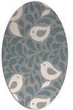 rug #1327001 | oval animal rug