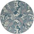 rug #1327249 | round damask rug