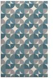 rug #1327344 |  white retro rug