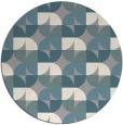rug #1327349 | round retro rug