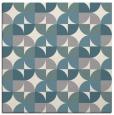 rug #1327356 | square white circles rug