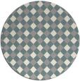 rug #1327448   round beige check rug