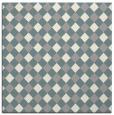 rug #1327456 | square white check rug