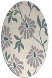 rug #1327460   oval beige natural rug