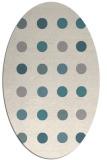 rug #1327620   oval beige circles rug