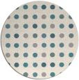 rug #1327868 | round beige geometry rug