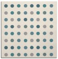 rug #1327876 | square white retro rug