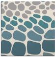 rug #1327936 | square beige circles rug