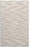 rug #1328184 |  white stripes rug