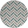 rug #1328208 | round beige retro rug