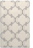 rug #1328244 |  white damask rug