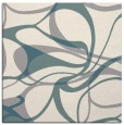 rug #1328576 | square white retro rug
