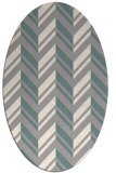rug #1328880 | oval beige popular rug