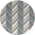 rug #1328888 | round white stripes rug