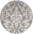 rug #1329068 | round beige rug