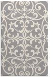 rug #1329224 |  white damask rug