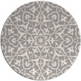rug #1329348 | round beige traditional rug