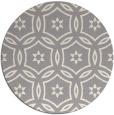 rug #1329388   round beige damask rug