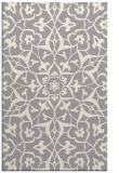 rug #1329444 |  white damask rug
